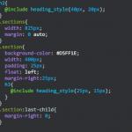 CSSコーディングをしやすくする、SASSのアレコレ
