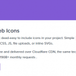 アイコンがダウンロード不要で使える SVGBOX.net